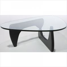 Tokyo Coffee Table in Ash Painted Black by Aeon
