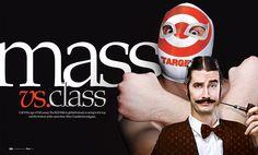 spread :: ocala magazine :: mass vs class  by jamie ezra mark