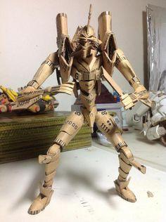 Cardboard Evangelion. yes please!