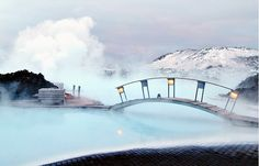Experience the Blue Lagoon Spa geothermal hot springs in Iceland. Book tours, admission tickets & transport from Reykjavik City Centre or Keflavik Airport. Dream Vacations, Vacation Spots, European Vacation, Places To Travel, Places To See, Blue Lagoon Spa, Lagoon Pool, Magic Places, Northern Lights Iceland