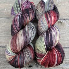 Masquerade - Yowza - Babette. http://www.missbabs.com/collections/hand-dyed-yarns/Yowza