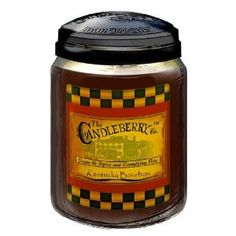 Candleberry Candles Kentucky Bourbon Candle, Made in Franfort, KY.   Smells wonderful