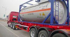 照片:20ft ISO tank container