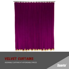 Home Theater Curtains, Stage Curtains, Home Theater Decor, Types Of Curtains, Pleated Curtains, Velvet Curtains, Home Decor, Pillow Covers, Pillows
