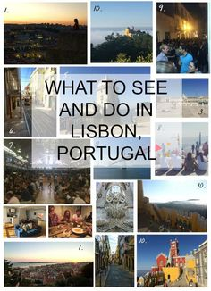 All my favorite things to do on my recent trip to Lisbon, Portugal!