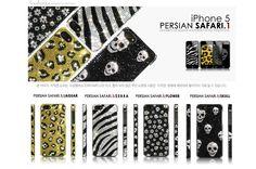 Persian Safari Phonecase for iphone 5 . Get a jungle!