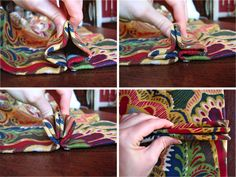 Textile Love: DIY Pinch Pleat Drapes - Pleating and Finishing. A standard rule of thumb is that each pleat section should be 5 inches wide and each space section should be 4 inches wide. Also, most consider 10 - 12 pleats per panel to be standard. Pinch Pleat Curtains, Pleated Curtains, Sewing Ideas, Sewing Projects, Sewing Patterns, Window Coverings, Window Treatments, Perfect Eyes, Airstream