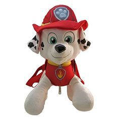 Accessory Innovations Paw Patrol Plush Backpack Bag - Not Machine Specific