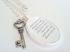 Les Miserables quote pendant by SweetlySpokenJewelry,