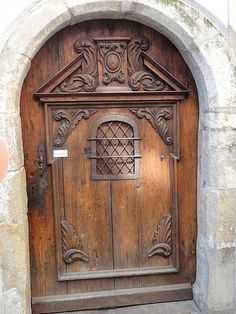 Plague Door - Passau Germany food was passed through the small insert