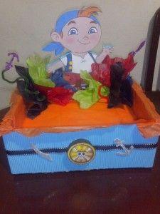 Piñata Jake y Los Piratas de Nunca Jamas - Curso de organizacion de hogar aprenda a ser organizado en poco tiempo