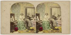 Alfred Silvester | Declaration of Love, Alfred Silvester, The London Stereoscopic Company, 1855 - 1865 |