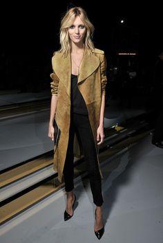 Céline suede coat