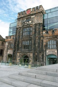 The Glasshouse combines medieval Gothic architecture with ultra modern features