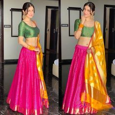 Indian designer pink lehenga choli for wedding outfits For order whatsapp us on wedding outfits wedding dress wedding dresses lengha lehnga sabyasachi manish malhotra Lehnga Dress, Lehenga Blouse, Lehenga Choli, Anarkali, Sarees, Banarsi Saree, Indian Lehenga, Pink Lehenga, Bridal Lehenga