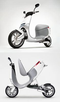 Go-goro Electric Scooter: A one-seater can take you for a peaceful ride through the streets of Cambria