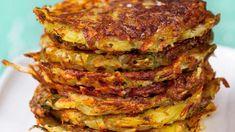 Pinaatti-perunaröstit   Yhteishyvä Drink Recipe Book, Dips, Good Food, Yummy Food, Snacks Für Party, Food Photo, Food Videos, Food Inspiration, Cooking Tips
