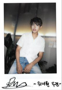 """""""[PHOTO] The Musician releases clearer scans of Ong, Woojin, Guanlin and Jisung"""" Let's Stay Together, Getting Back Together, Jaehwan Wanna One, Ong Seung Woo, Polaroid Photos, Polaroids, Guan Lin, Kim Jaehwan, Ha Sungwoon"""