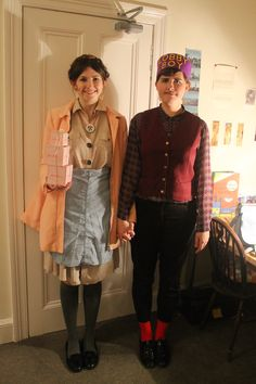 Agatha and Zero costumes from Wes Anderson's Grand Budapest Hotel