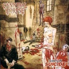 Cannibal Corpse - Gallery Of Suicide on Limited Edition Picture Disc LP