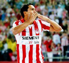 """Giovanni"" Giovanni Silva de Oliveira (Olympiacos FC, 1999–2005, 129 apps, 61 goals)"