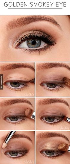 pretty! I've never tried doing my eyeliner BEFORE my shadow. But I like the natural look it gives!