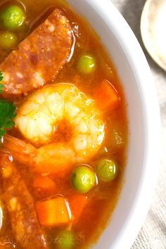 Prawn and Chorizo Soup