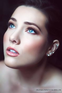 Veronica Fensel Makeup Artistry Digital Icon Photography model Abigail Samford