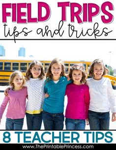 Field trips can be a headache, both when planning them and when the day finally comes! Use my tips and tricks to make your experience with field trips in kindergarten more enjoyable and super easy! These tips can also be used in other elementary grades!