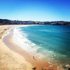 Bondi Beach, Australia...have friends there.  Need to plan a visit!