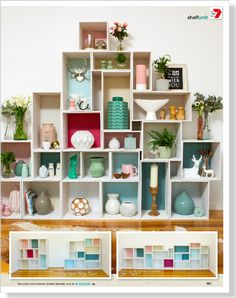 For a stylish display solution, make these easy boxes and stack 'em up against a wall! Think outside the box with shelving you can stack as you like! Box Shelves, Decor, Bedroom Themes, Diy Decor, Kids Furniture, Home, Home Diy, Shelving, Home Decor