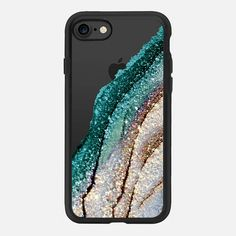 FLAWLESS MYSTIC TEAL BY MONIKA STRIGEL iPhone 7 Hülle by Monika Strigel | Casetify (DE) $40 #casetifyiPhone7 #iphone7 #iphone7case #popular #cute #