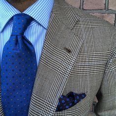 #ootd #jacket #Luciano #S'180 prince of Wales#shirt #finamore1925 #tie and pocket square#Violamilano #sea of blues#