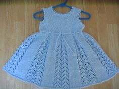 Free Pattern Ravelry: Lacy Tunic / Baby Dress pattern by Mama Aurica