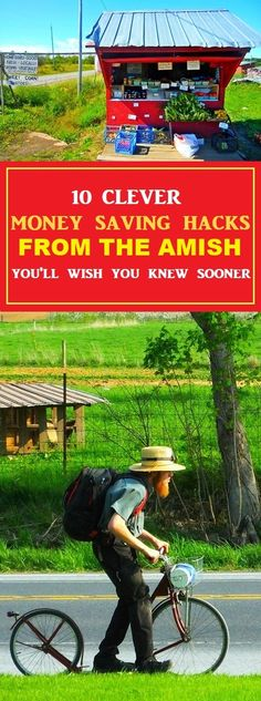 Clever Money Saving Hacks From The Amish #amish #money #frugal #frugalliving