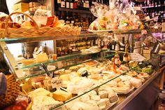 Volpetti's Gourmet Food Shop in Rome, Italy