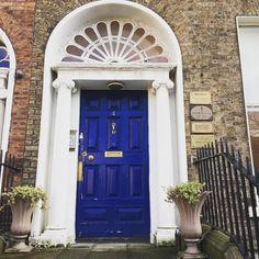 My healing room is behind the blue door! #GeorgianDublin