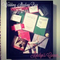 Katelyn's Corner: Wedding Shadow Box