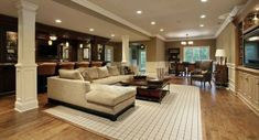 Flooring Ideas For Your Basement Remodel