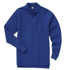 River's End� Men's Easy-Care Long Sleeve Polo