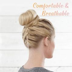 Wear that Easy-To-Wear Stylish Hair Scrunchies confidently everywhere, knowing it makes that hair looks professionally done, even with thin fine hair! It is ma Box Braids Hairstyles, Short Hair Updo, Curly Hair Styles, Professional Updo, Rose Hair, Rose Bun, Looks Chic, Trending Hairstyles, Stylish Hair