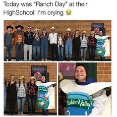 I dress in ranch-type clothes anyway. IMMA REAL COWGIRL. >:( XD