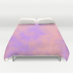Cotton Candy Clouds - Pink & Purple Duvet Cover