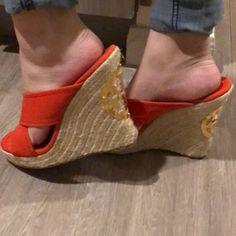 15dade381 7 Best red espadrille wedges images