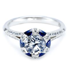 Image result for tiffany sapphire engagement rings