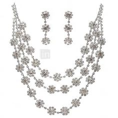 Jewelry Set Women's Anniversary / Wedding / Engagement / Birthday / Special Occasion Jewelry Sets Cubic Zirconia / Alloy Cubic Zirconia 2318288 2017 – $11.99