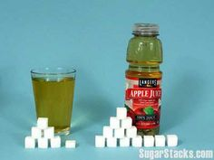 Exactly as much sugar per ounce as Coca Cola. 104 out of 120 total calories comes from sugar.
