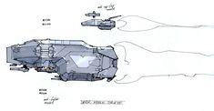 Homeworld 2 Missile Corvette Concept