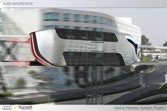 M3 Interstate Transport Concept - 3D rendering
