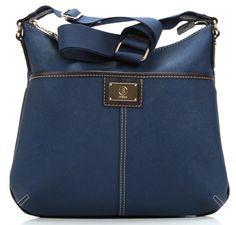 wardow.com - Tasche von Bogner, Crossing Amy Umhängetasche dunkelblau 32 cm